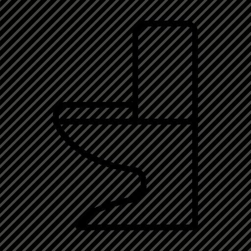 Toilet, bathroom, excrete, wc, restroom icon - Download on Iconfinder