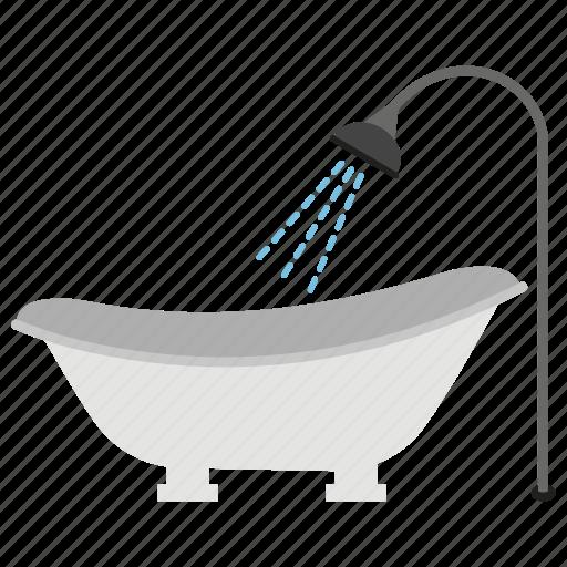 apartment bath, bathroom interior, bathroom tub, bathtub, jacuzzi, water tub icon