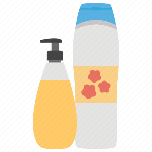 cream cleaning product, flat vector icon icon