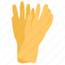 cleaning, gloves, hand protection, hardware, mitten icon
