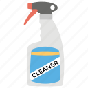 cleaner, cleaning, cleanser, detergent, sanitation, sterilization icon