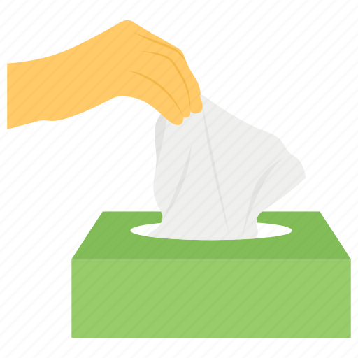 amenities, paper holder, paper napkin, tissue, tissue box, tissue dispenser, washroom accessories icon