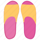 casual sandal, flipflop, footwear, house shoe, pair of slipper, slipper, toilet slipper icon