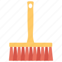 broom, brush broom, cleaning equipment, feather duster, household icon