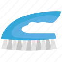 bathroom accessories, broom, clean tool, cleaning brush, house cleaner icon