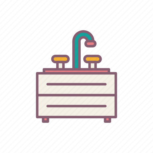 Bathroom, home, shower, water icon - Download on Iconfinder