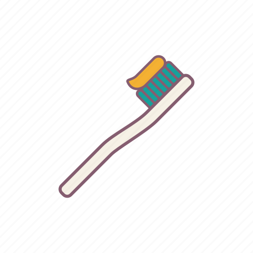bathroom, brush, clean, tooth, water icon