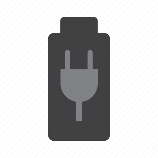 battery, charge, charging, electricity, energy, plug icon