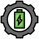 adjust, electronics, battery, charge, gear