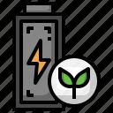eco, leaf, battery, energy, power