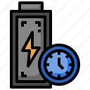 time, reminder, status, electronics, battery