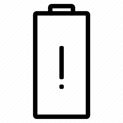 aa, battery, caution, electric, electricity, energy icon