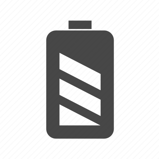 aa, battery, charged icon