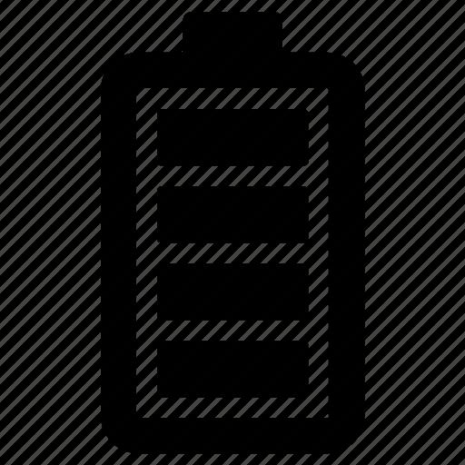 battery, energy, full icon