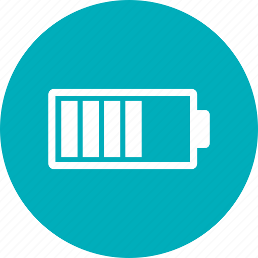 battery, energy, middle, power icon