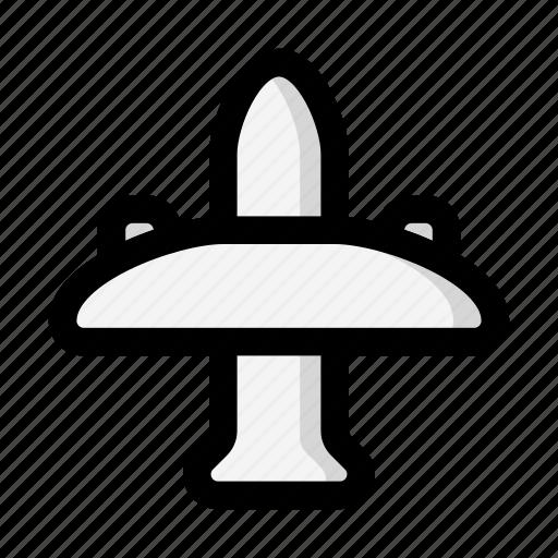 Airplane, flight, pubg icon - Download on Iconfinder