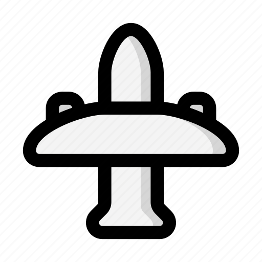 airplane, flight, pubg icon