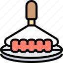 grill, brush, cleaning, scrub, bristles