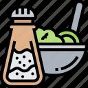 salt, shaker, ingredient, seasoning, cooking