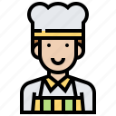 career, chef, cook, gourmet, job icon