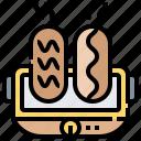 grill, pork, roasting, rotisserie, spit icon