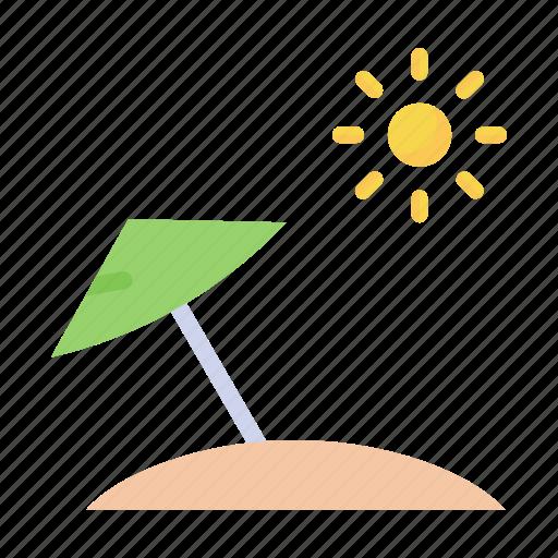 beach, hot, summer, umbrella icon