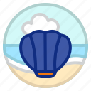 animal, scallop, sea, shell icon