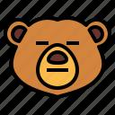 bear, wildlife, mammal, animal, zoo, blah