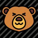 bear, wildlife, mammal, animal, zoo, cute