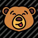 bear, wildlife, mammal, animal, zoo, playful