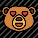 bear, wildlife, mammal, animal, zoo, love