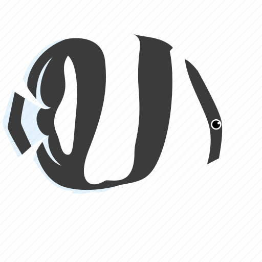 animal, banded, butterfy, fish, ocean, reef, sea icon