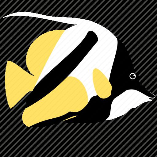 animal, banner, fish, ocean, reef, sea icon