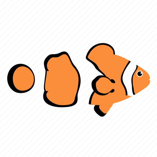 animal, clownfish, ocean, reef, sea icon