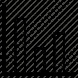 bar, bar-chart, chart icon