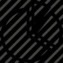 chart, pie, pie-chart icon