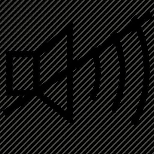 mute, mute-volume, off, sound, sound-mute, sound-off, volume-mute icon