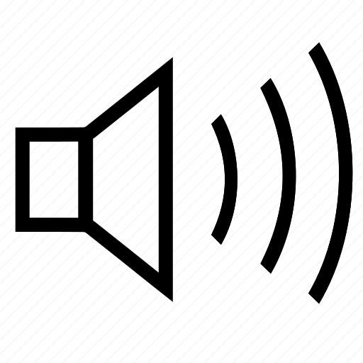 on, sound, sound-on, volume, volume-on icon