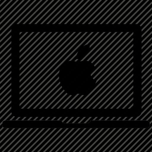 apple-laptop, apple-macbook, laptop, mac, macbook icon