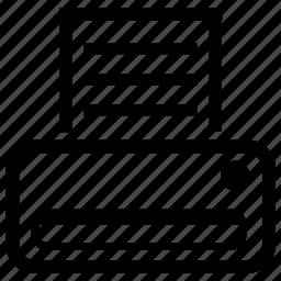 desktop, printer icon