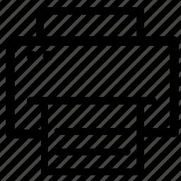 inkjet, printer icon
