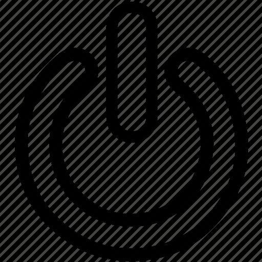 power, shut-down, shutdown icon