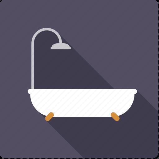 bathroom, bathtub, beauty, body care, fixture, hygiene icon
