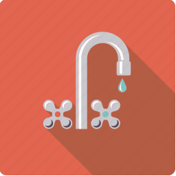 bathroom, body care, faucet, fixture, hygiene icon
