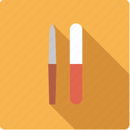 bathroom, beauty, body care, hygiene, nail files icon