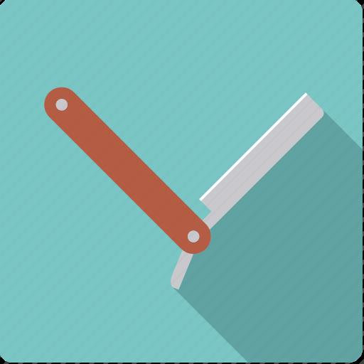 barber, bathroom, body care, grooming, hygiene, knife, razor icon