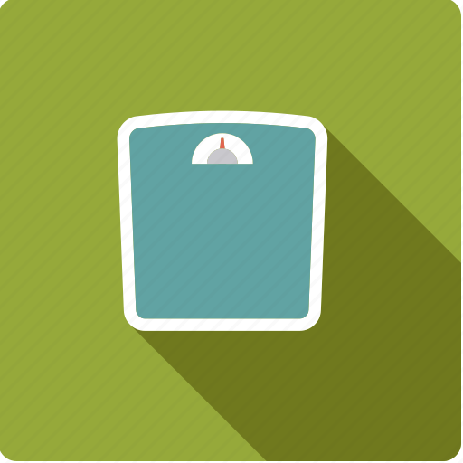 bathroom, beauty, body care, diet, hygiene, scales, weight icon