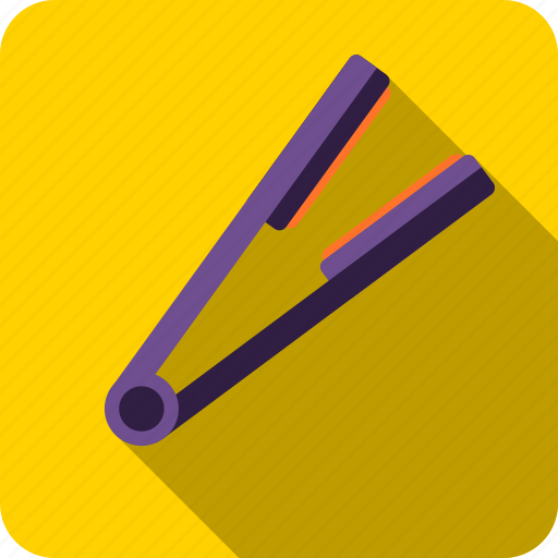 beauty, device, hair, straightener, technology, tool icon