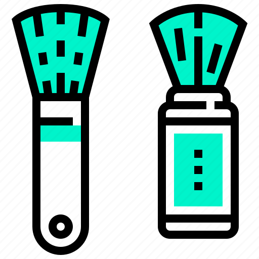Beauty, brush, cosmetic, on, treatment icon - Download on Iconfinder