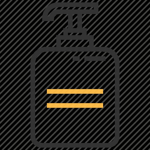 beauty, bottle, lotion, moisturizer icon